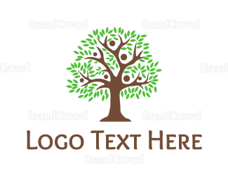 Crowdsourcing - Big Family Tree logo design