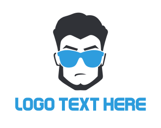 Badass - Cool Dude logo design