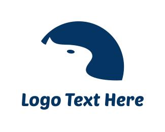 Kitty - Blue Cat logo design