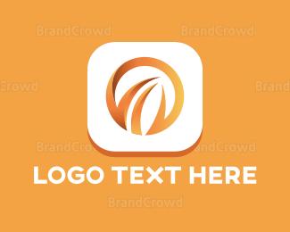 Burn - Fire Circle logo design
