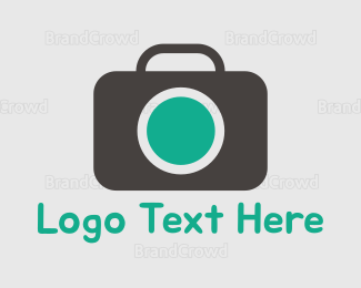 Picture - Photography Green & Grey logo design