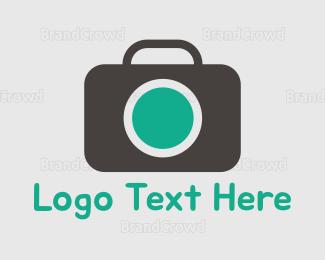 Photo - Photography Green & Grey logo design