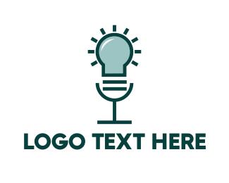 Idea - Idea Voice Lamp logo design