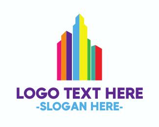 Rainbow Town Logo