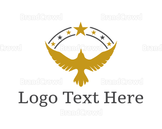 Political - Golden Eagle logo design