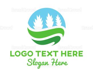 Creek - Plant Circle logo design