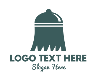 Cleaning - Broom Dome logo design