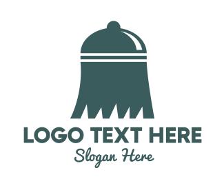 Bell - Broom Dome logo design