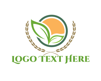 Wheat - Wheat Grain logo design