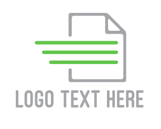 Document - Quick Document logo design