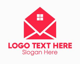 Window Glass - Window Mail Envelope logo design