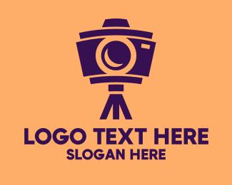 Camera Accessories - Photography Camera Tripod  logo design