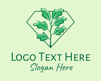 Foliage - Green Ivy Plant  logo design