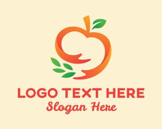 Tomato - Tomato Plant Care logo design
