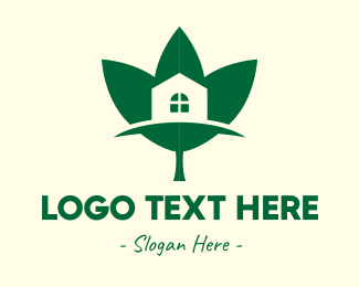 Eco Friendly - Eco Friendly House logo design
