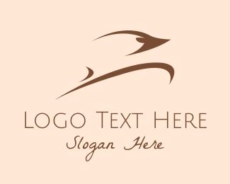 Stylized - Stylized Gazelle logo design