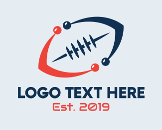 Nfl - Modern Football logo design