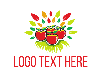 Apple - Fresh Apples logo design
