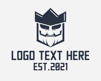 Gaming - Medieval Mad King logo design