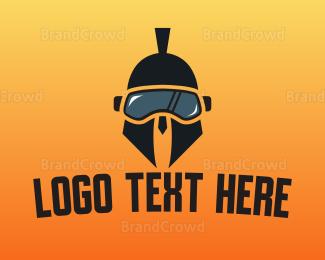 Gaming - Spartan VR Gaming logo design
