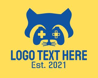 Gaming - Blue Racoon Esport logo design