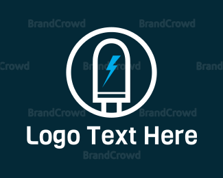 Bulb - Led Light logo design