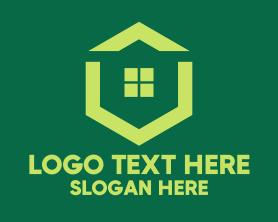 Green Real Estate Housing Logo