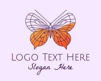 Butterfly - Elegant Butterfly  logo design