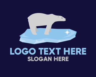 Freeze - Polar Bear logo design