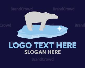 Alaska - Polar Bear logo design