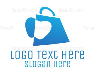 Bag - Apple Bag logo design