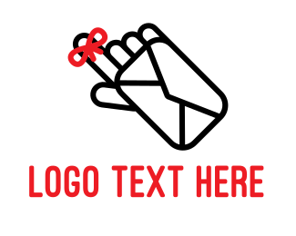 Finger - Mail Reminder logo design