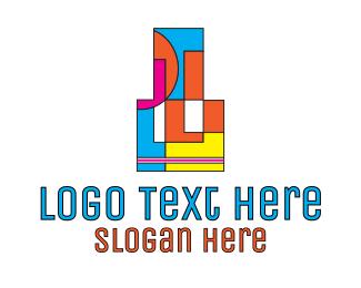 Art - Pop Art Art Gallery logo design