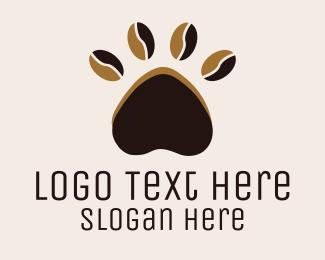 Paw - Coffee Paw logo design