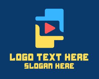 Stream - Hand Focus Streaming Application logo design
