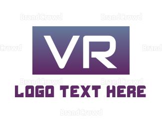 Cyber - Cyber VR Gaming logo design