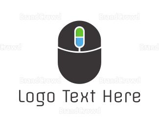 Mice - Mouse Capsule logo design