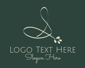 Floral - Floral Letter S logo design