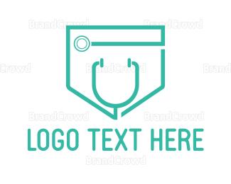 Rehab - Medical Pocket logo design