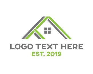 Shelter - Terra Real Estate logo design
