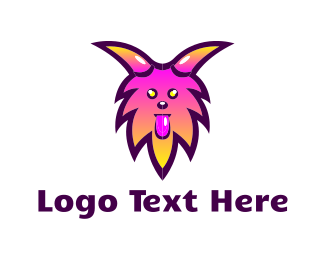 Demon - Furry Monster logo design