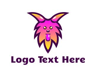 Fur - Furry Monster logo design