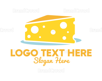 Cake - Cheese Cake logo design