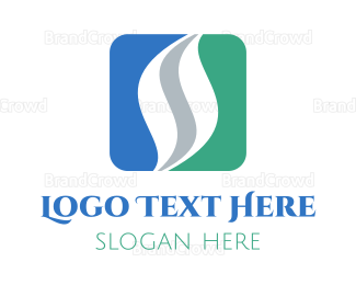 Back - Business Letter S logo design
