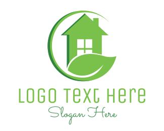 """Green Eco Home"" by LogoBrainstorm"