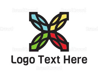 Colorful - Colorful Flower logo design