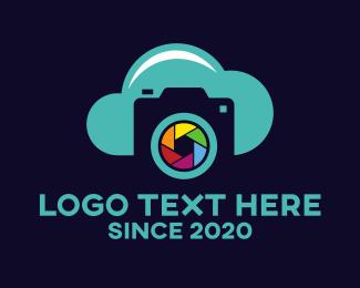 File Sharing - Cloud Instagram Shutter  logo design