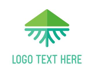 Outdoors - Green Mountain logo design
