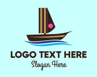 Canoe - Cake Boat logo design