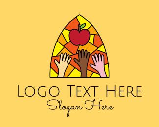 Learning - Children's Learning Center logo design